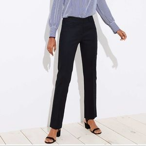 Black Julie Straight Leg Pants - Loft